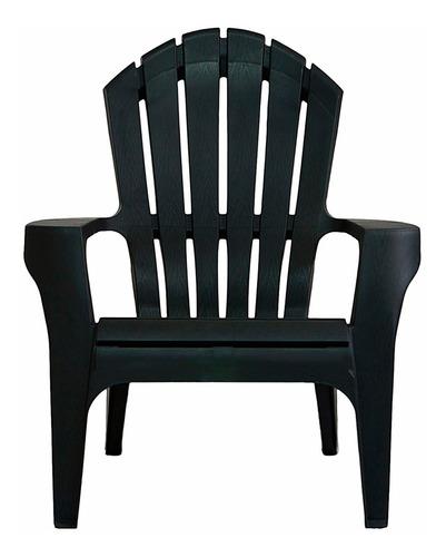 sillón plastico garden life miami negro