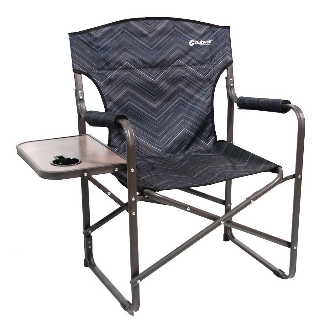 Plegable Mesa 125kg Con Reforzado Posavaso Sillon Waterdog b7gY6yf