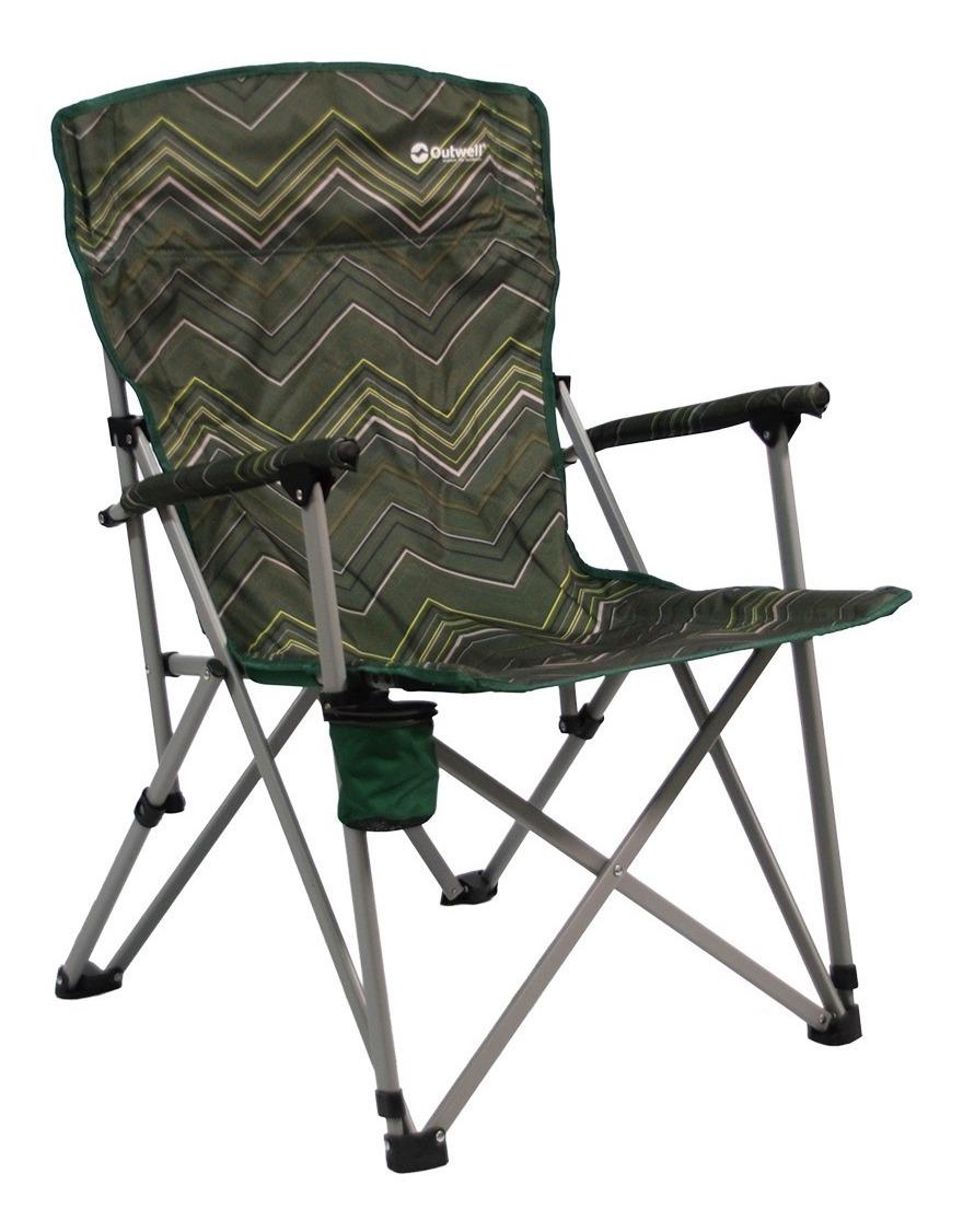 Para Plegable Sillón Outwell Camping 125kg Acero Director n8NwOvm0