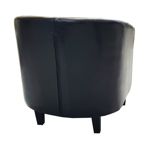 sillon poltrona butaca ecocuero negro 96022 / fernapet
