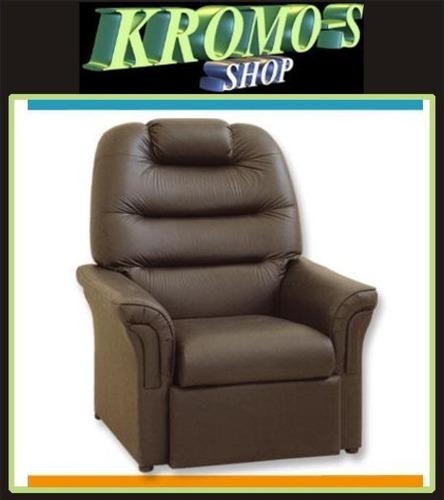 sillon poltrona reclinable relax total casi cama kromo-s