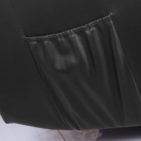 sillon poltrona reclinable ultra premium de ecocuero + relax