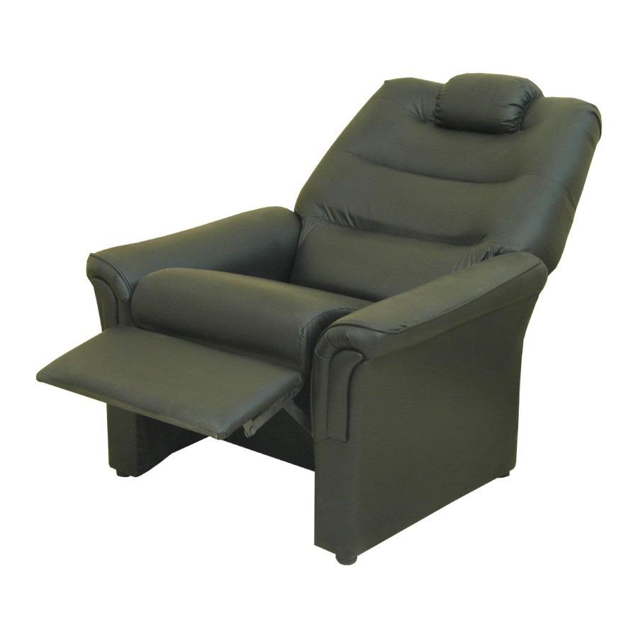 Sillon poltrona relax div n reclinable diva de cuero for Sillon relax un cuerpo