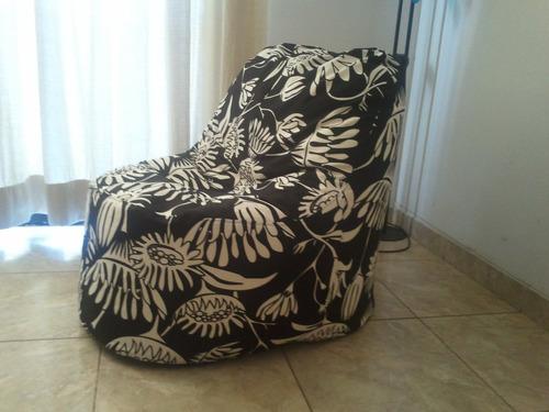 sillón pouf gigante 90x80x70 , metro 14 de la florida