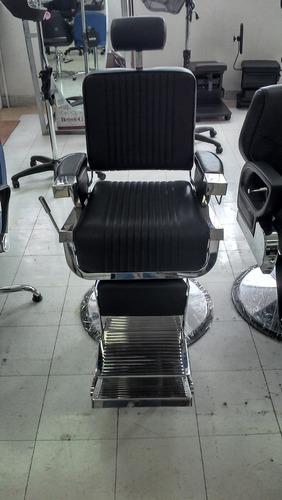 sillon profesional de peluquero tipo vintage dmb-200