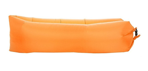 sillon puff inflable playa pileta camping + bolso + colores