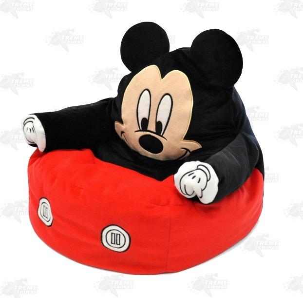 Sillones Puff Para Ninos.Sillon Puff Para Ninos Mickey Mouse Xtreme C