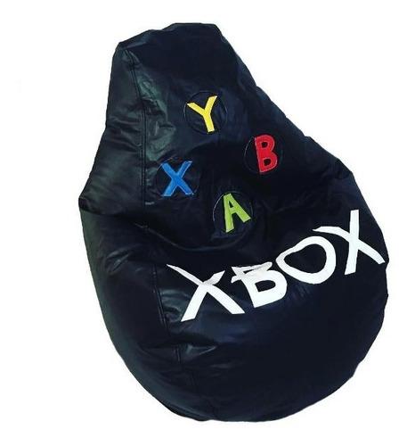 sillon puff pera xbox grande ideal para personas de hasta 100 kg
