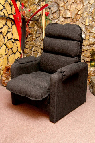 sillón reclinable 2 posiciones. promo chenille/talampaya