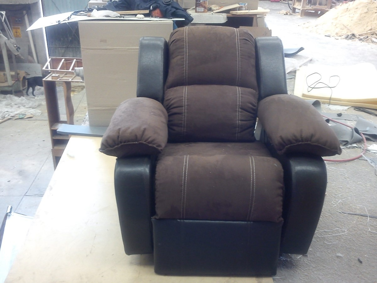 Sillon reclinable con chicote 4 en mercado libre for Sillon reclinable
