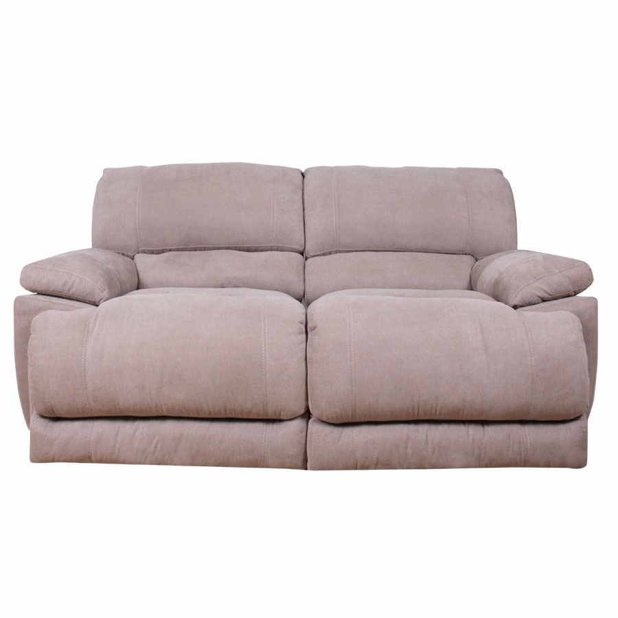 Sillon reclinable doble reposet luxor mobydec muebles for Sillon reclinable tela