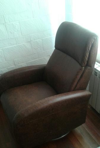 sillon reclinable giratorio