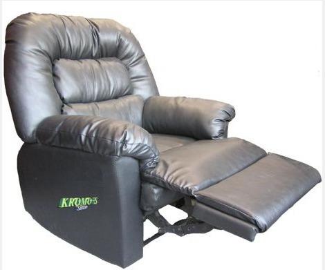 sillón reclinable relax poltrona mecanismo metálico kromo-s
