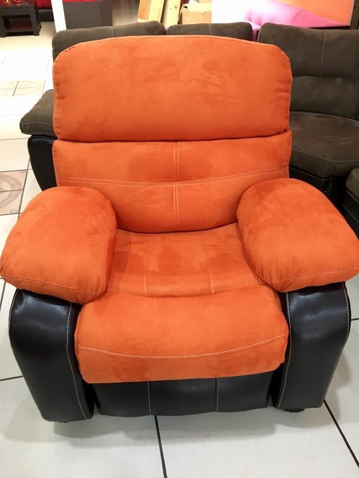 Sillon reclinable reposet medellin salas muebles sofa for Sillon reclinable