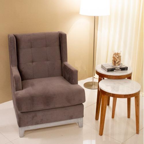sillón recto 1 cuerpo