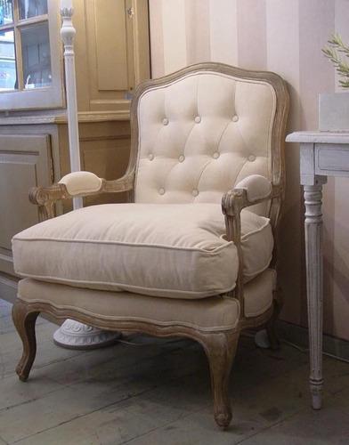 sillón regencia de estilo francés luis xv