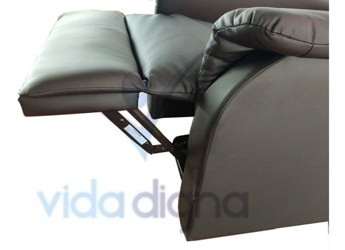 sillon reposet reclinable de masaje y calor - electrico