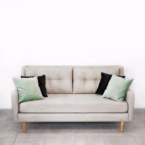 sillón retro 1,80 mts tela elección metrocuadrado