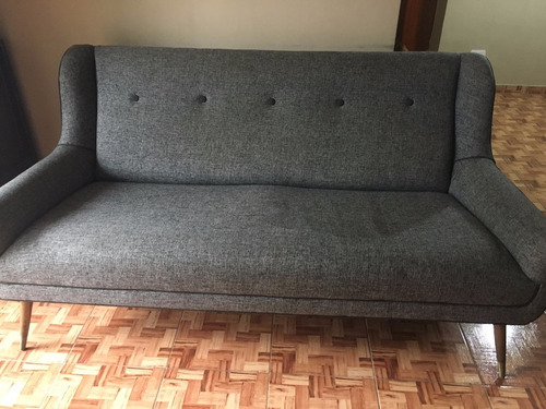 sillón retro bergere tres cuerpos impecable / usado