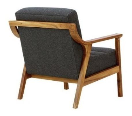 sillón río de madera