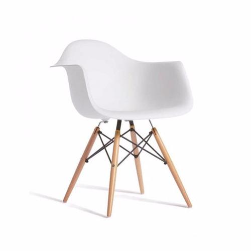 sillon silla comedor madera diseño eames shoppy oferta