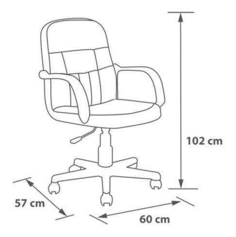 sillon silla computacion ejecutivo respaldo + firme premium ultimo modelo