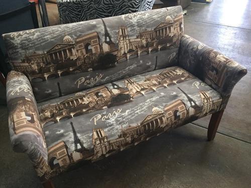 sillon silla doble decorativo decoración sillon ocasional