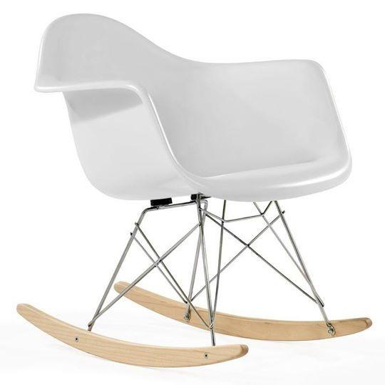 Sillon Silla Mecedora Diseño Eames Rocking Rar - $ 1.999,00 en ...