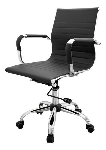 sillon silla oficina escritorio aluminium eames bajo pc
