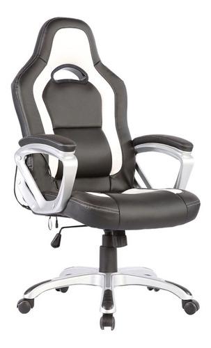 sillon silla oficina masaje vibracion calor gaming roja msi