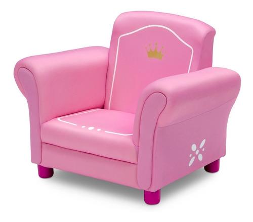 sillon sillonsito sofa silla para niña  princesas delt crown
