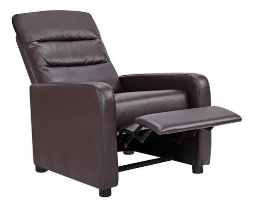 sillon sofa 1 cuerpo recliner poltrona reclinable sensacion