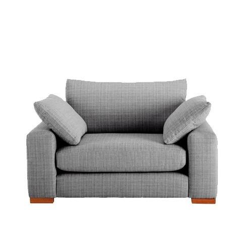 sillon sofa 1 cuerpo talamp/chenille habitat deco