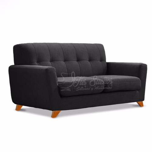 sillón sofa 2 cuerpos retro vintage escandinavo original