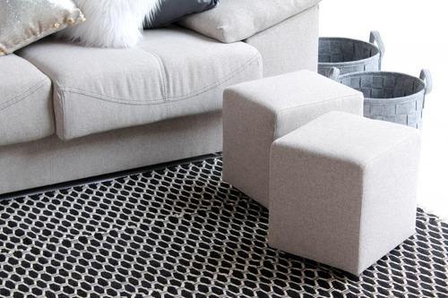 sillon sofa 3 + chaise longue paris colores la valenziana