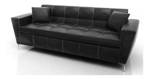 sillon sofa aero 3 cuerpos 220 eco patas crom