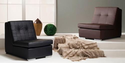 sillon, sofa, butaca 1 cuerpo 6852 negro - dormire