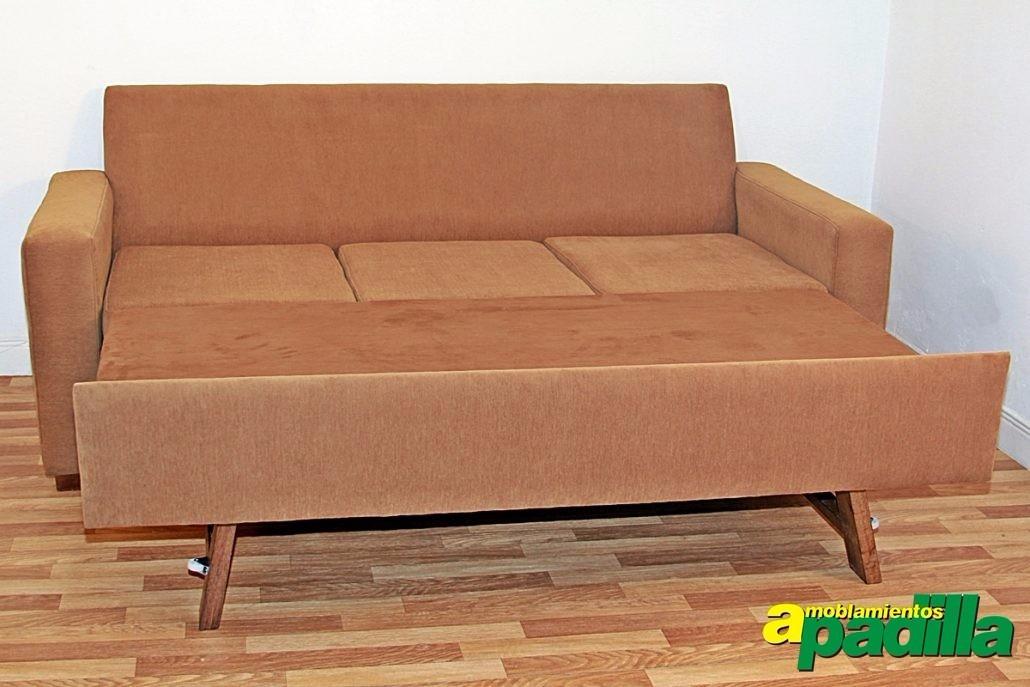Sill n sof cama 3 cuerpos cama 2 plazas modelo mallorca for Modelos de sillon cama
