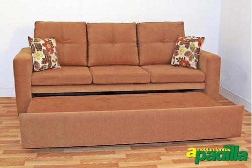 Sill n sof cama 3 cuerpos cama 2 plazas modelo mallorca for Sofa cama 2 plazas oferta