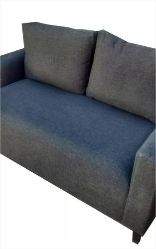 sillón sofá chenille-pana 2 cuerpos 1,60m premium!!