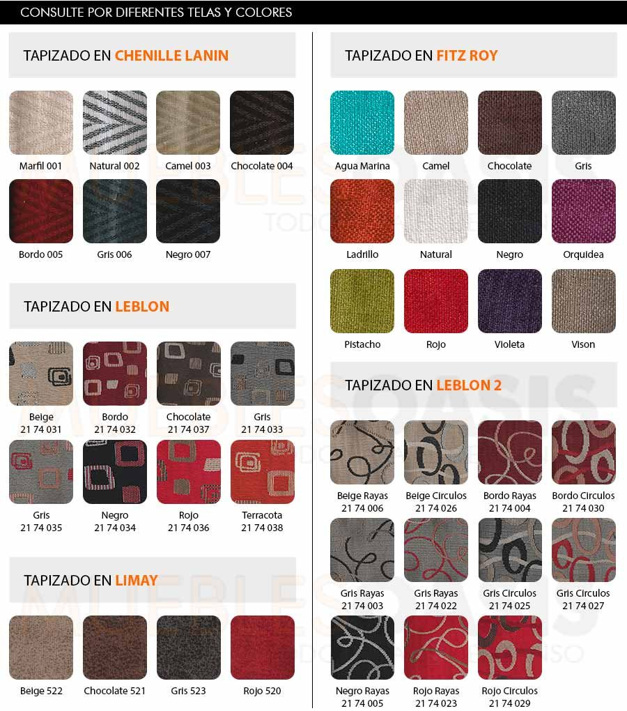 Sillon Sofa Chenille Premium 2 Cuerpos Soft Muebles Oasis  # Muebles Oasis Caseros