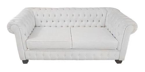 sillon sofa chesterfield 3 cuerpos x 2 mts