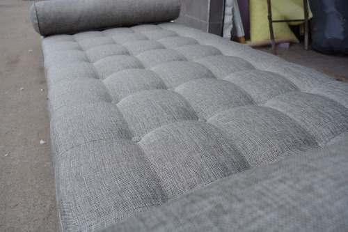 sillon sofa divan vintage retro con botones - premiun