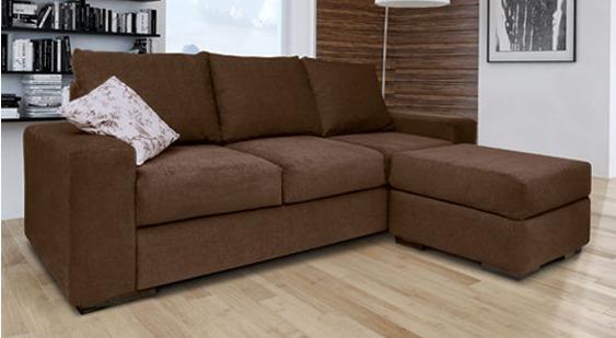 Sillon Sofa Esquinero 3 Cuerpos Chenille Premium
