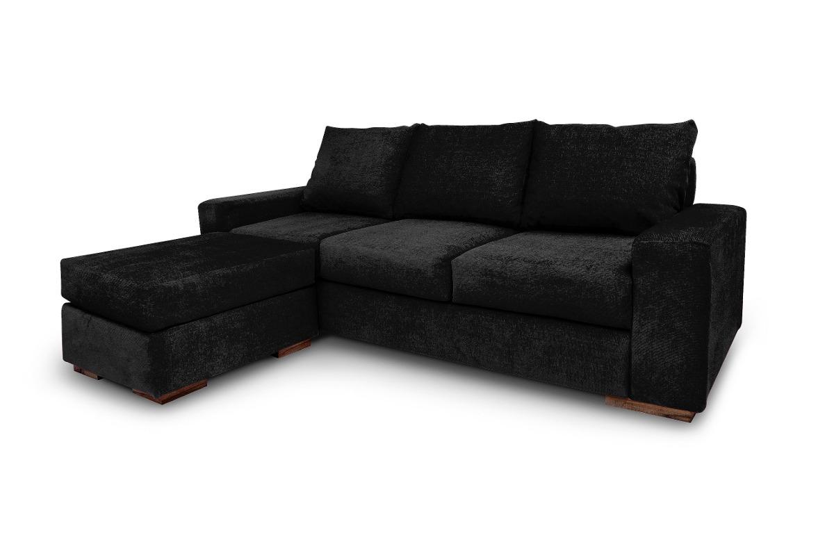 Sofa rustico silln sofa cama futon campestre madera for Sofa esquinero grande