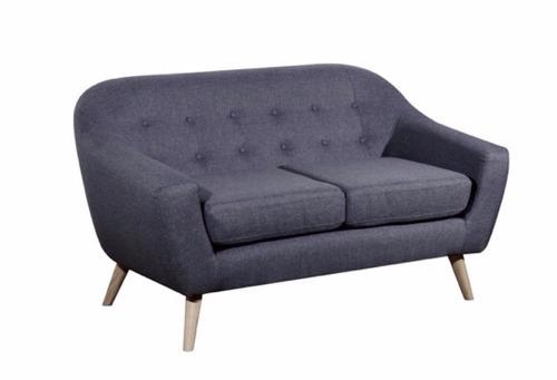 sillón sofá frank 2 cuerpos de diseño retro vintage rosario