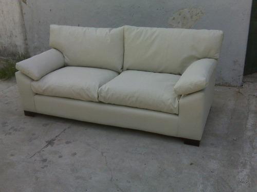sillón sofá italiano 1.70 a 2.00 mts habitat deco