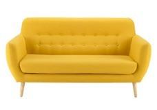sillon sofa retro dos cuerpos chenille