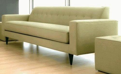 sillon sofa vintage todo en chenille