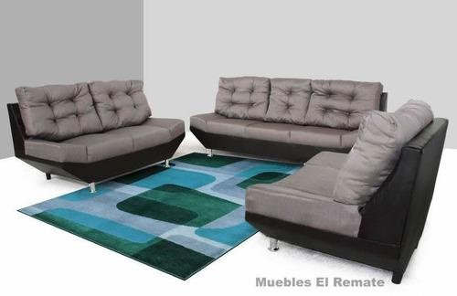 sillon tapizado en tela cohiba y vinipiel en monterrey